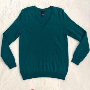 MAGASCHONI 100% cashmere v-neck sweater